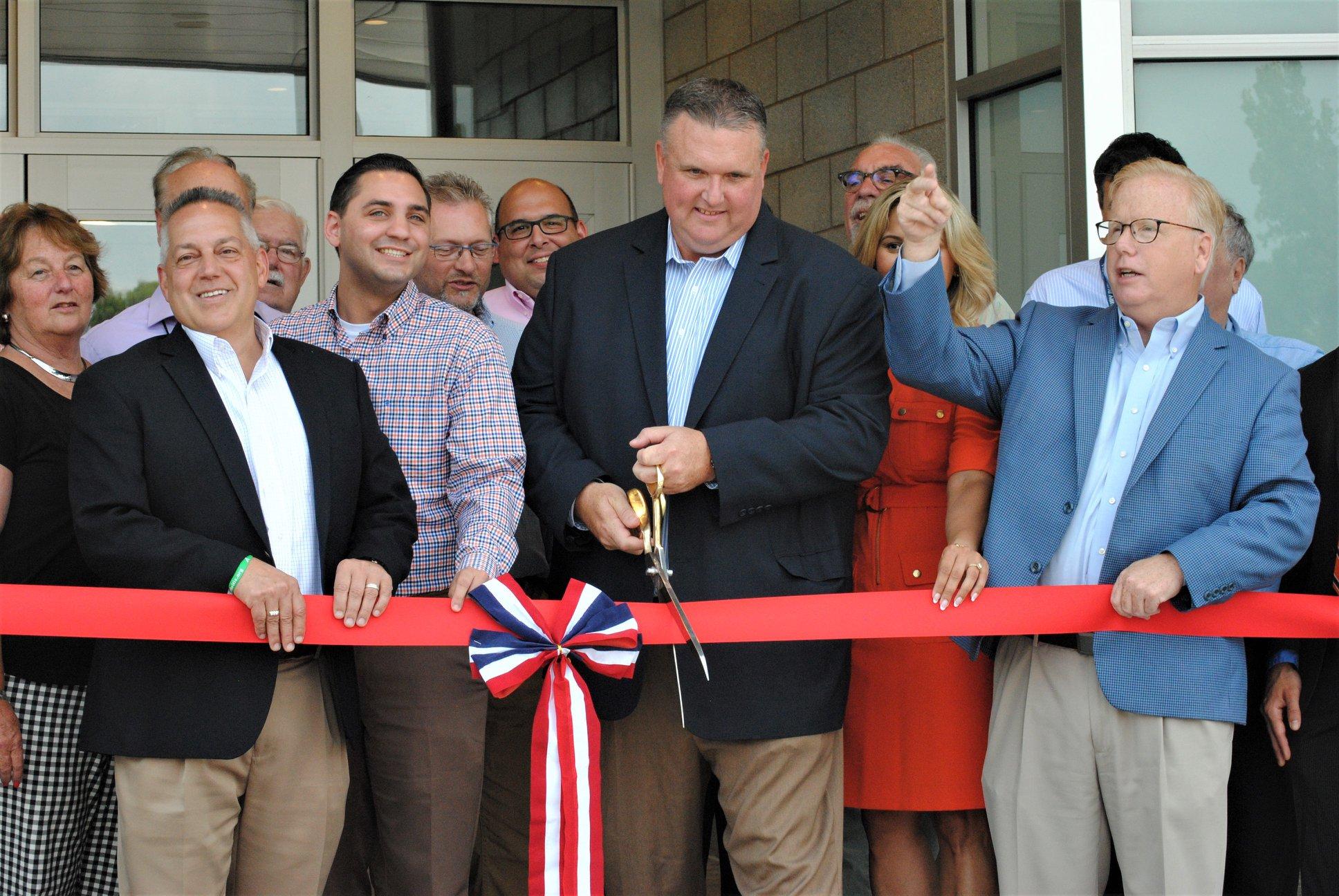 Ribbon cut at renovated, expanded Danbury High School