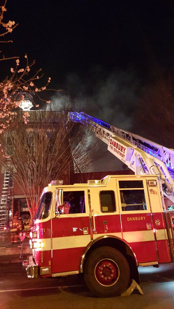 one person injured in danbury fire on christmas